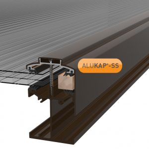 ALUKAP-SS LOW PROFILE GABLE BAR BROWN V1.01