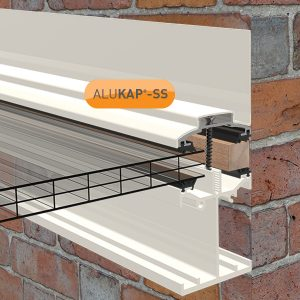 ALUKAP-SS LOW PROFILE WALL BAR WHITE V1.01
